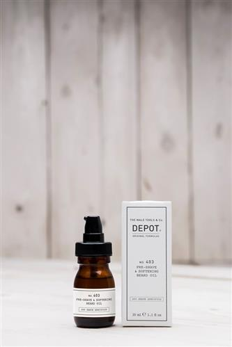 Depot Pre-Shave & Softening Beard Oil no.403